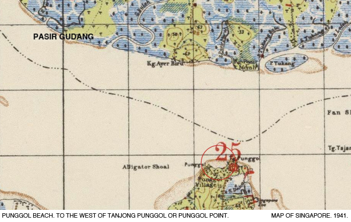 _04A-Map-1941-Punggol-Beach