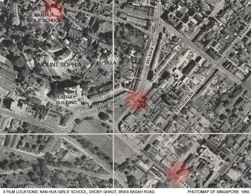 _14A-Photomap-1950-Mount-Sophia-Dhoby-Ghaut