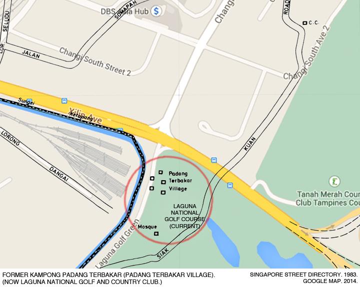 _12-Street-Directory-1983-Google-Map-2014-Kampong-Padang-Terbakar