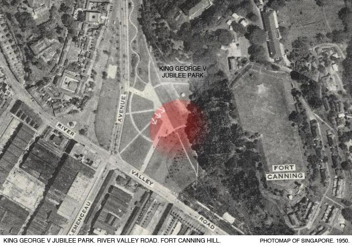 _14C-Photomap-1950-King-George-V-Jubilee-Park-Fort-Canning