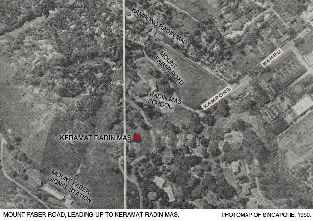 _06A-Photomap-1950-Mount-Faber-Keramat-Radin-Mas