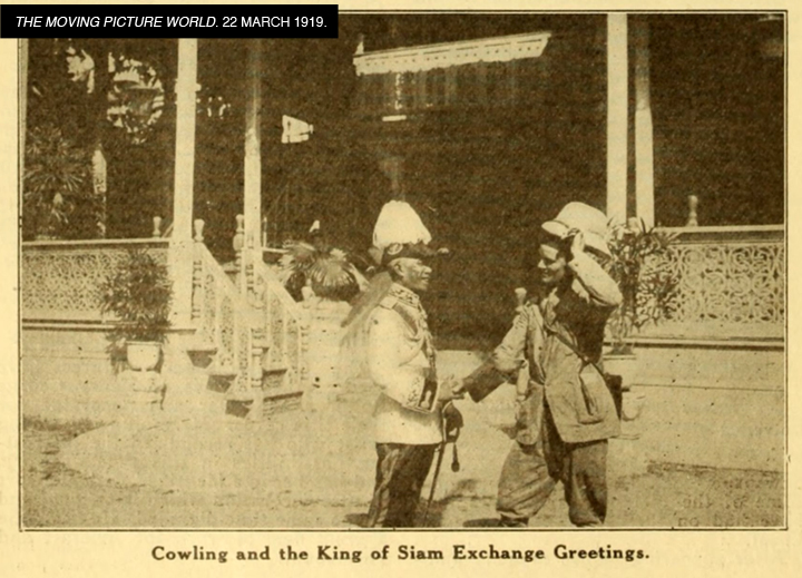 03-H.T.Cowling in Siam-Moving Picture World 22 Mar 1919